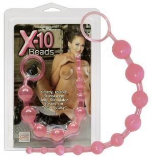 X-10 Beads Pink Zevk Topu