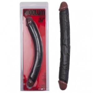 43 cm Hoodlum Zenci Penis Çift Taraflı