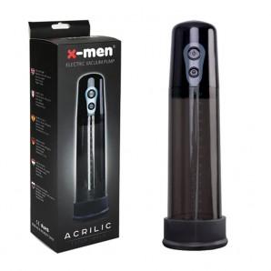 Acrilic X-Men Otomatik Penis Pompası