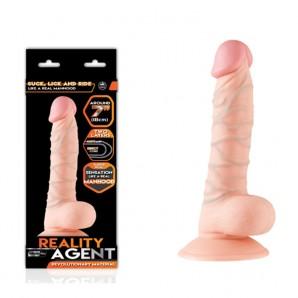 18 cm Reality Agent Çift Dokulu Realistik Penis