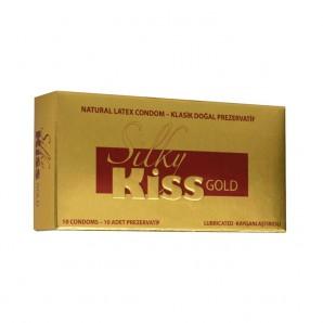 Silky Kiss Gold Prezervatif
