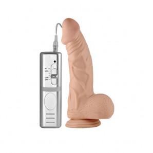 23 cm Titreşimli Kabadayı Extreme Realistik Penis