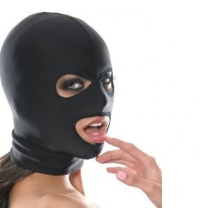 Siyah Kumaş Fetish Maske