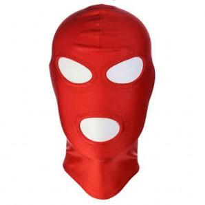 Kırmızı Kumaş Fetish Maske