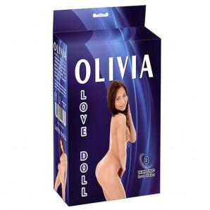 Olivia Şişme Bebek Manken